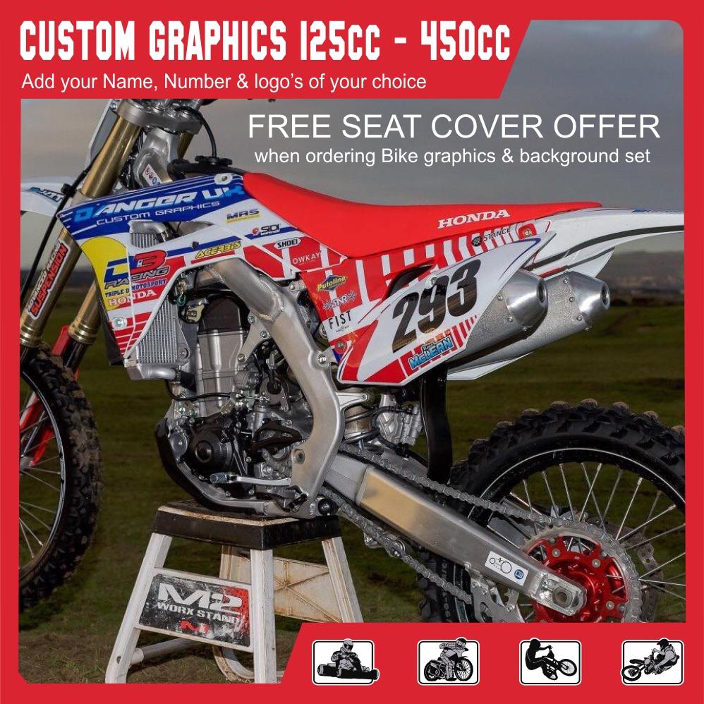 Custom MX Graphics 125cc plus