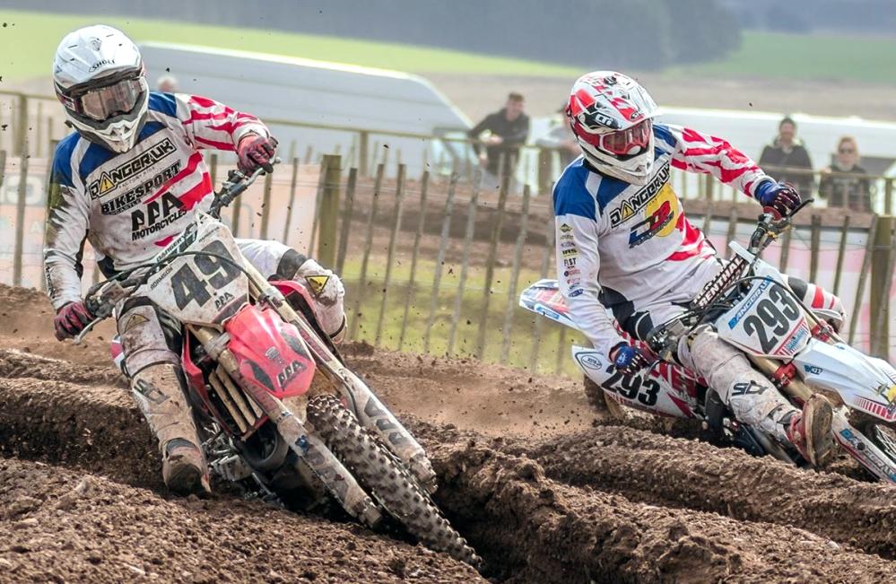 2 riders berm