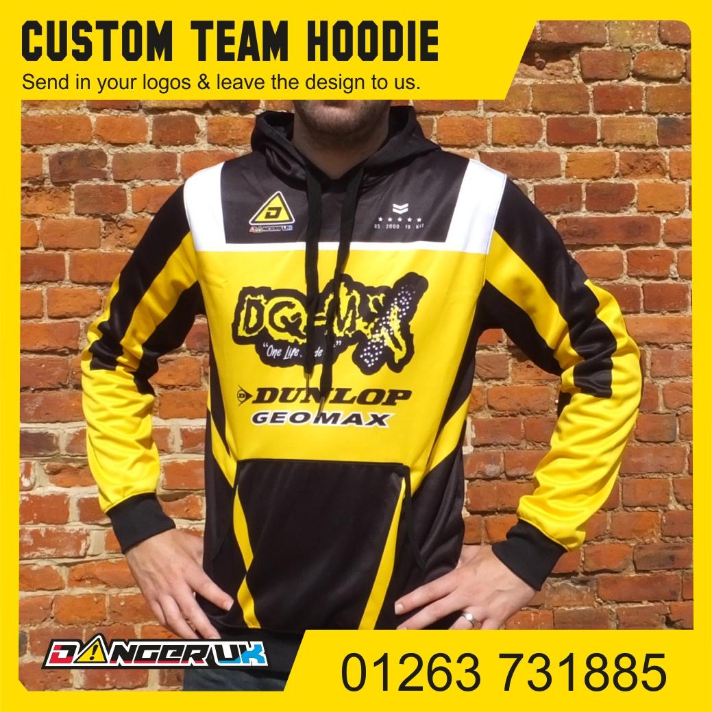 Team hoodie DQMX F