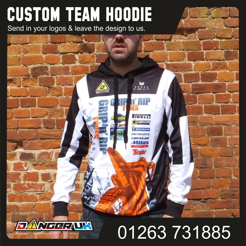 Team hoodie Grip n Rip F