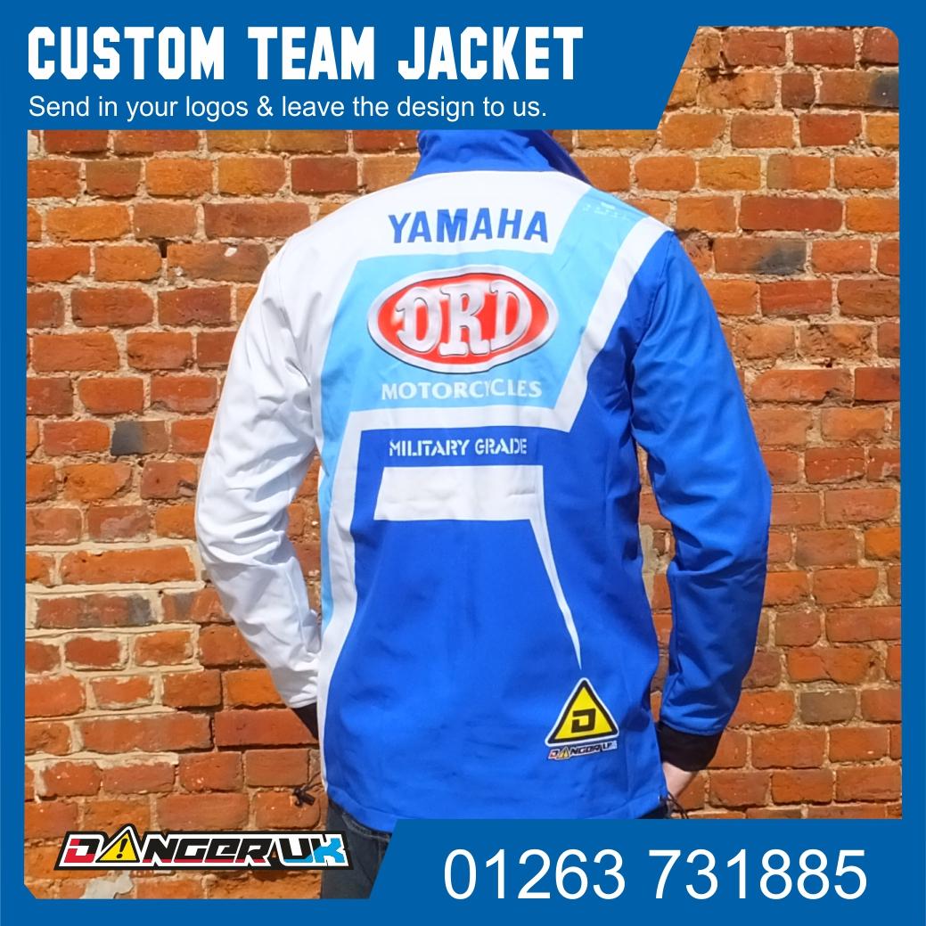 Team Jacket DRD Back