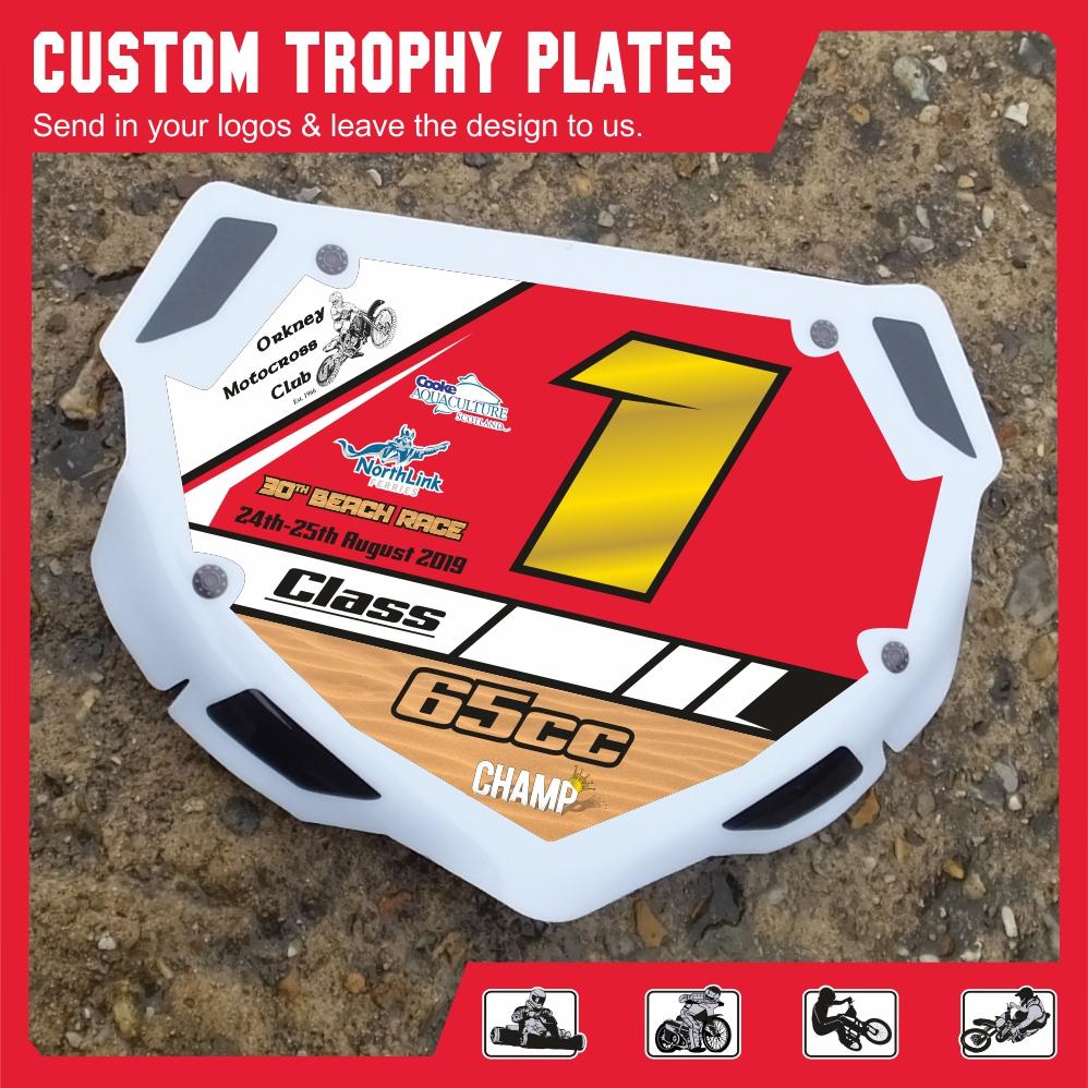 Trophy Plate BMX 1